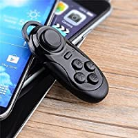 SaleOn Rechargeable Bluetooth Remote Controller Wireless Gamepad Mouse for Android VR Box (Black)-377