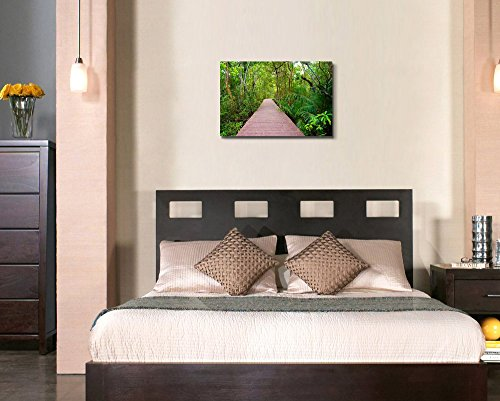 Wooden Bridge to The Jungle Tha Pom Mangrove Forest Krabi Thailand II Home Deoration Wall Decor