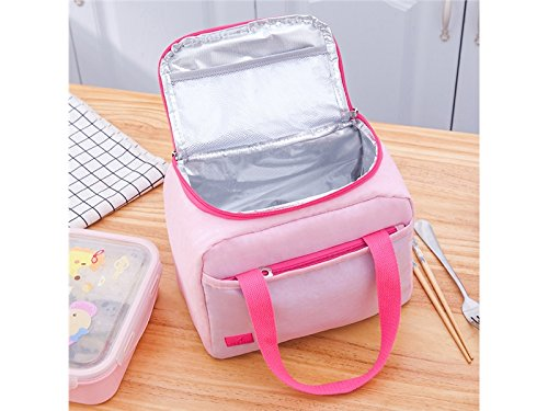 Insulated Kids WELL MADE Nylon Men Bag Cooler Lunch Tote Box for Lunch Women JwlqAy Bag BtZ6wZ