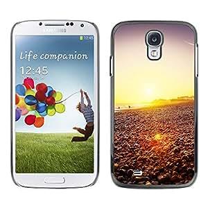Smartphone duro funda protectora para Samsung Galaxy S4/funda TECELL tienda/feliz Hipster Beach Sunset