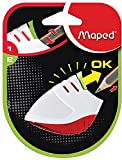 Maped Stop Signal 1 Hole Sharpener, Assorted Colors (004001ST)