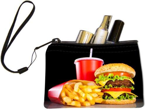 Rikki Knight Burgers and Coke Design Keys Coins Cards Cosmetic Mini Clutch (Coke Design)