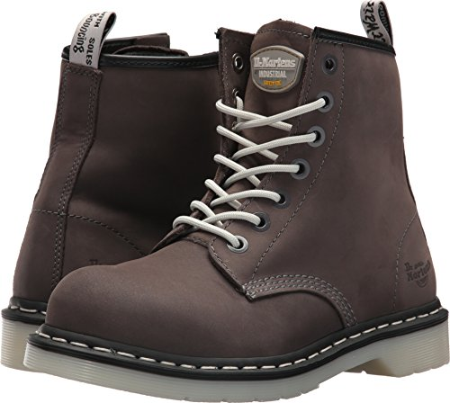 Classic Maple Safety Toe Dr Boots Ladies Lace Grey Steel Martens Womens Up qxOOUCwR6