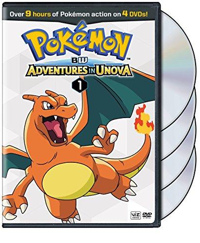 Pokémon: BW Adventures in Unova Set 1 (DVD)