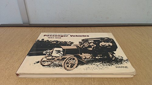 Passenger Vehicles 1893-1940 (Olyslager Auto Library)