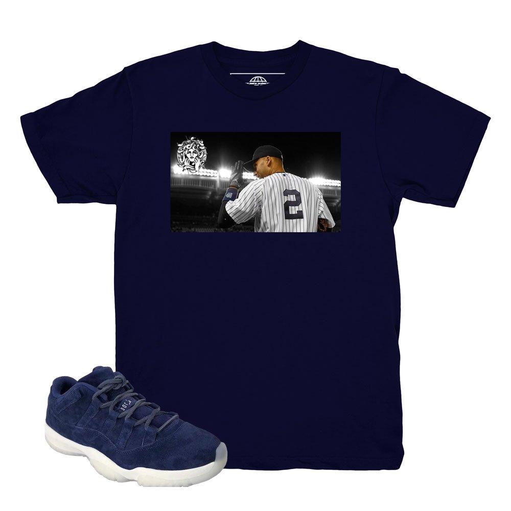 sports shoes 8d89b 5abe5 Kickset Re2pect 11 Low Deuces Navy Shirt to Match Jordan 11 ...