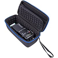 CASEMATIX Portable CB Radio Case For Midland 75-822 and 75-785 40 Channel CB-Way Radio and Antennae – Padded Interior, Carry Handle and Carabiner For Travel