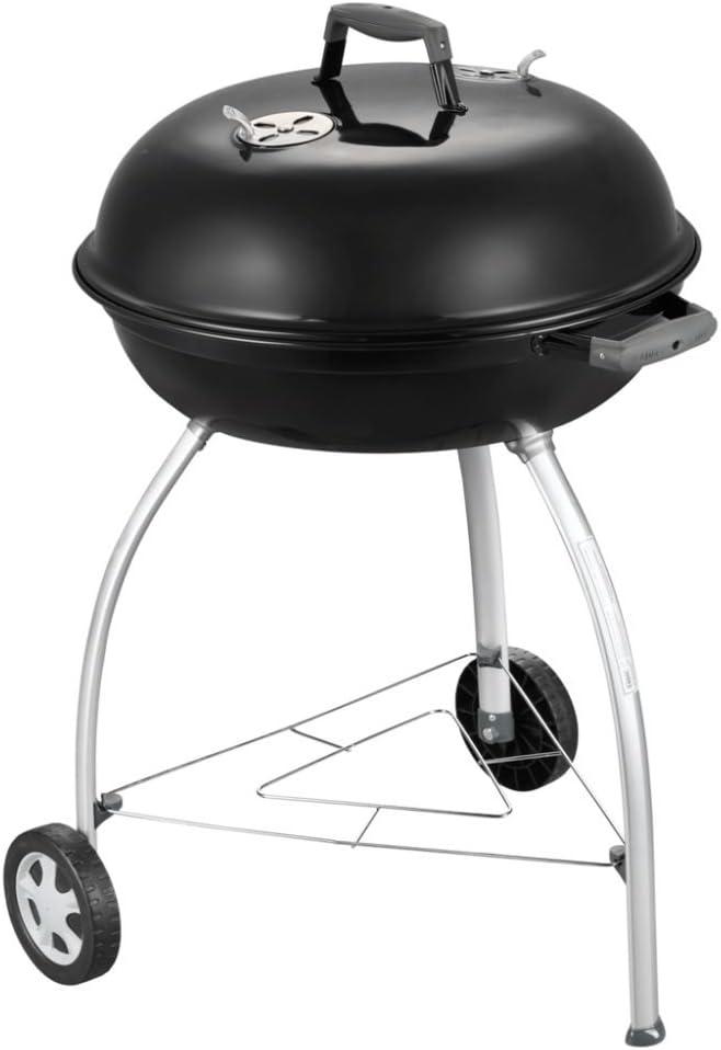 Cadac Charcoal Mate - Barbacoa (Barbacoa, Carbón vegetal, Carro, Grid, Negro, Alrededor)