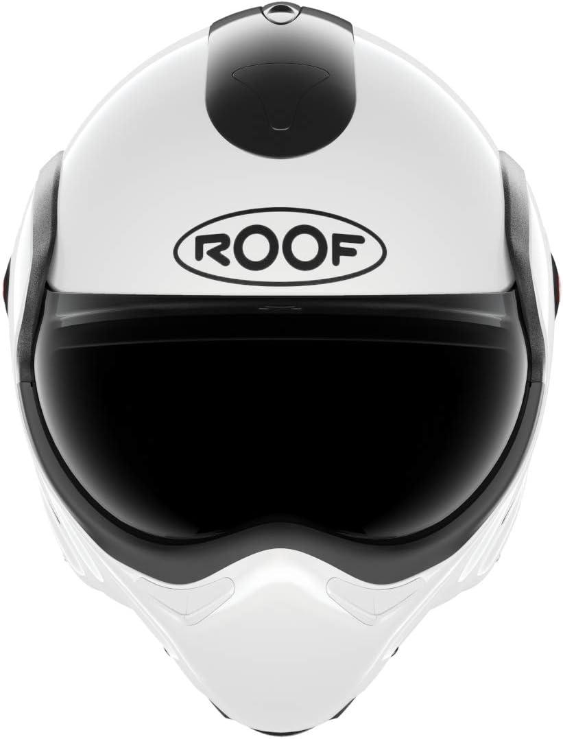 Casco integrale in fibra di vetro colore bianco Roof BOXXER UNI
