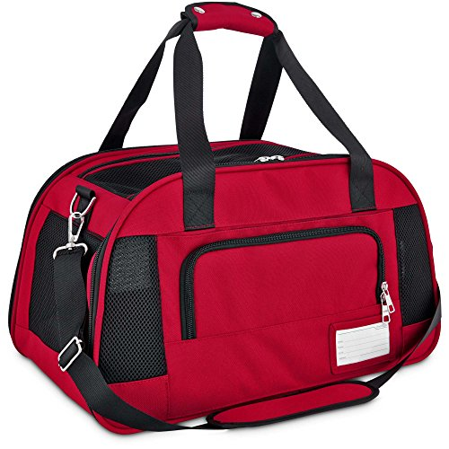 Good2Go Ultimate Pet Carrier in Red, Large