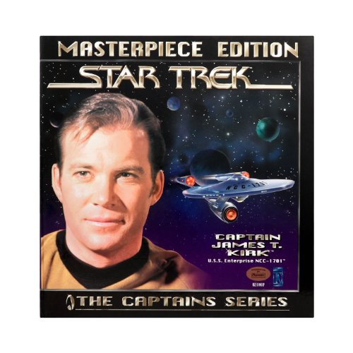 Star Trek The Captains Series Masterpiece Edition Captain James T Kirk 12-Inch Limited Edition Action Figure with Book