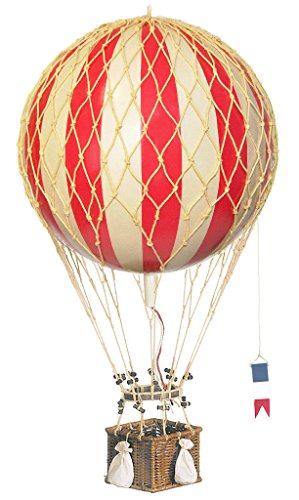 hot air balloon model red - 9
