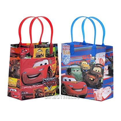 Disney Car Party Favor Licensed Reusable Small Goody Gift Bags 6