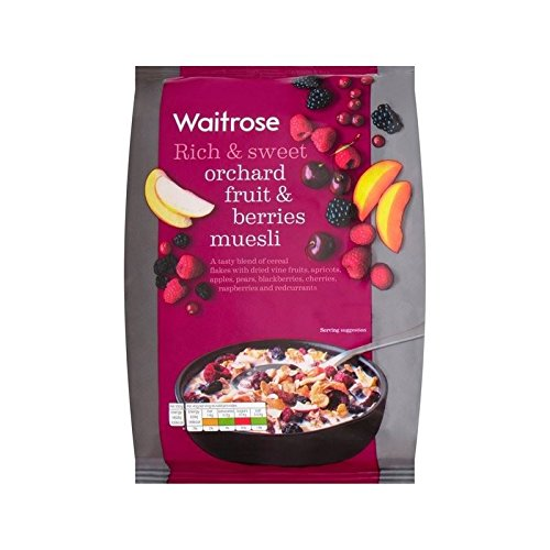 Orchard Fruit Berry Muesli Waitrose 1kg - Pack of 6 by WAITROSE