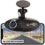 Nexar Smart Dash Cam, Small & Discreet Wide Angle Car Camera + Cloud Storage for Video Clips, Easy to Install + 32GB SD Card G-Sensor and GPS