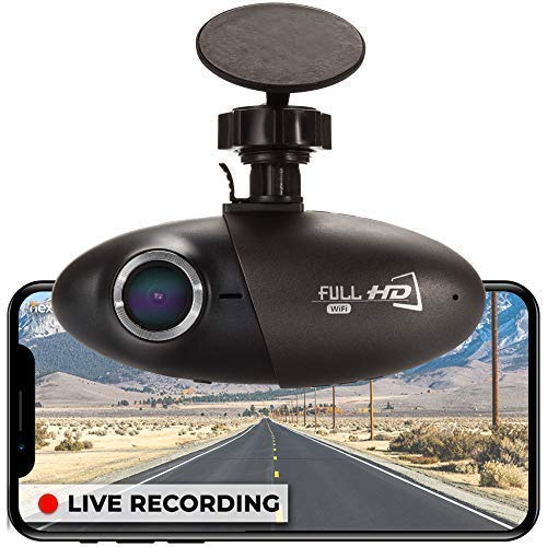 Nexar – Powered Dash Cam for Car, Cloud Storage of Video Clips, Auto Quick Start and Power Off, Sony CMOS Video Sensor, SD Card Included, G-Sensor