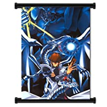 "Yu-Gi-Oh! Anime Fabric Wall Scroll Poster (16"" x 22"") Inches [TJ]--Yu Gi Oh- 16"