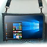 dash board notepad - 12 Inch Tablet Car Headrest Tablet Mount Holder Case & Sleeve by USA Gear - For Huawei Matebook E (2nd Gen) & other 12