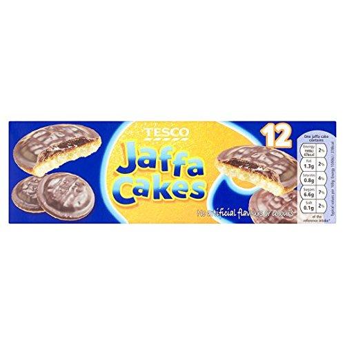 Tesco Jaffa Cakes 12 Pack 135G