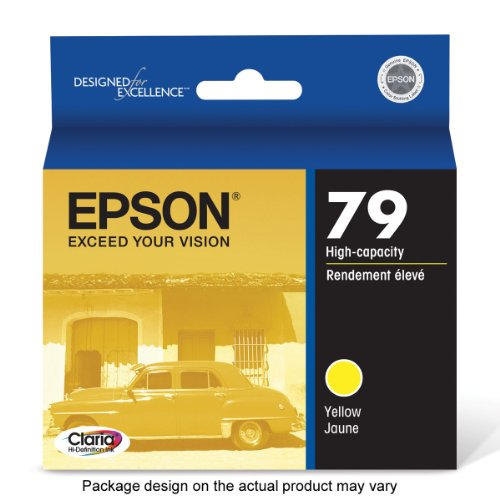 Epson Claria Hi-Definition 79 High-capacity Inkjet Cartridge Yellow T079420