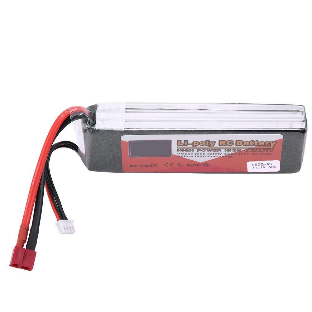 Dilwe Batterie LiPo pour RC mod/èle 3S 11.1V 1300mAh 1500mAh 3500mAh 4500mAh 5500mAh Pile LiPo Rechargeable avec T-Plug 1300mAh 30C
