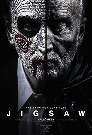jigsaw 13 x19 original promo movie poster cinemark xd saw tobin