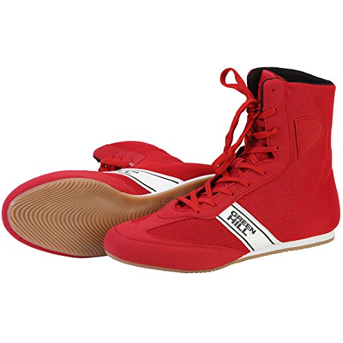 for Boots Training Adult Unisex GreenHill Boxing Red Boxing Boots Professional Top Boxing Ideal Boxing High Training Shoes R7Z0fq