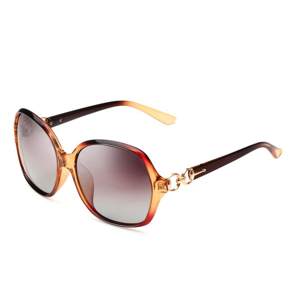 Polarisierte Sonnenbrille Damen/Sonnenbrille mit UV Gesicht Rahmen ...