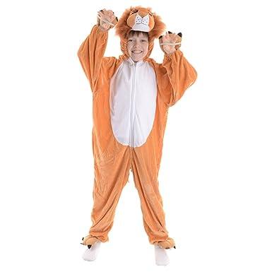 Disfraz lindo del león de los tamaños de los cabritos XXL (11-13 years