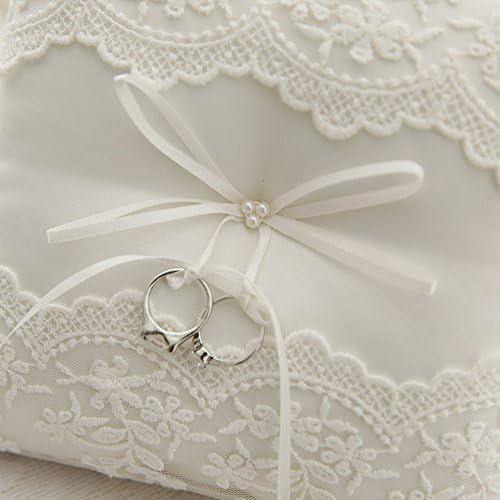 Amazon.com: Awtlife - Almohadilla de encaje con perlas para ...
