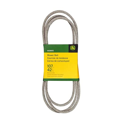 John Deere Original Equipment Flat Belt #GX20072: Amazon.es ...