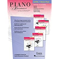 Piano Adventures Level 1 Bravo Pack: 5-Book Pack