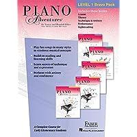 Piano Adventures Level 1 Bravo Pack: 5-Book Pack