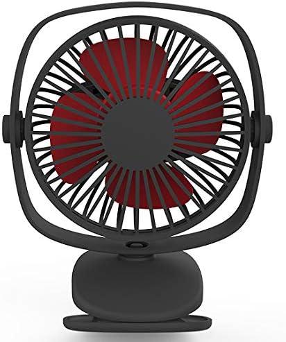 LXS Mini Personal Fan Desk Desktop Table Cooling Fan with Battery Operated for Office Room Outdoor Household Traveling Rechargeable USB Fan Mini Handheld Fan Blue