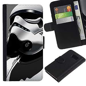 """JackGot ( Tormenta Tropp Star Soldier"""" ) Sony Xperia Z3 Compact / Z3 Mini (Not Z3) la tarjeta de Crédito Slots PU Funda de cuero Monedero caso cubierta de piel"""
