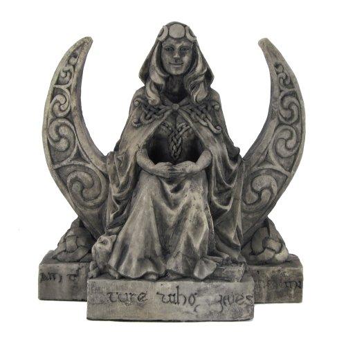 Altar Statue Sculpture (Moon Goddess Statue Stone Finish)