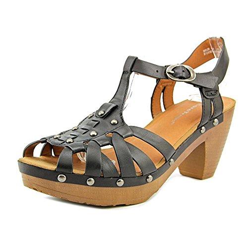 BareTraps Women's Saylor Platform Sandal, Black, 6.5 M US