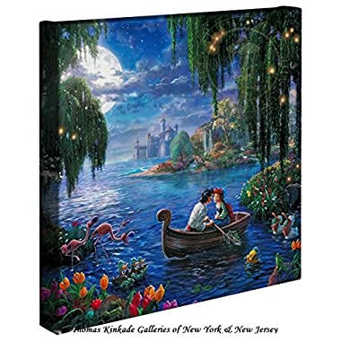 Little Mermaid II Gallery Canvas Wrap by Thomas Kinkade