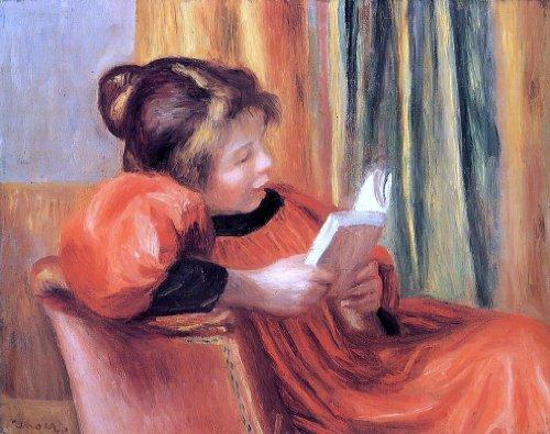 Pierre Auguste Renoir Girl Reading - 20.05