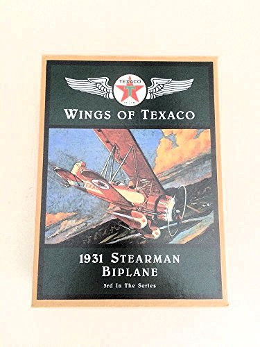 wings-of-texaco-3rd-in-the-series-1931-stearman-biplane-die-cast-model-coin-bank