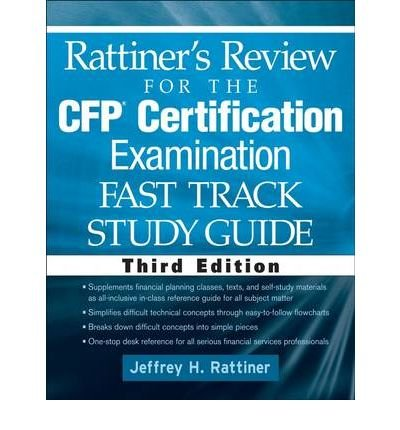 Rattiner S Review For The Cfp Certification Examination