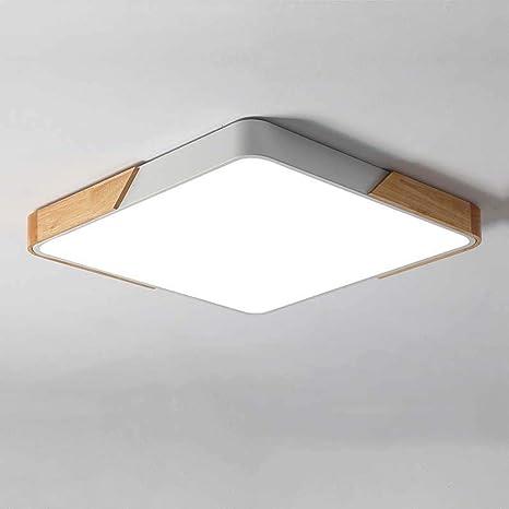 BDHBB Luz de Techo Moderna, patrón geométrico Acrílico Semi ...