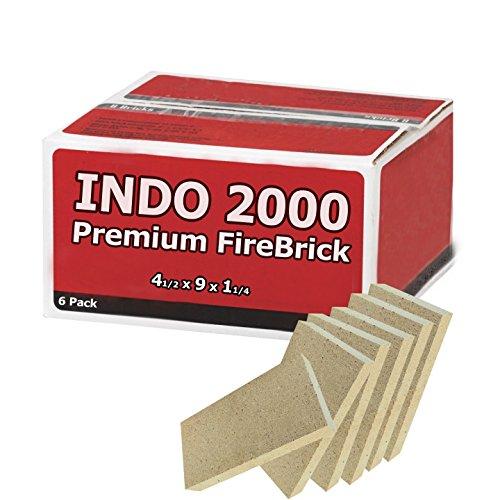 Indo 2000 Fire Bricks (Us Stove Firebrick)