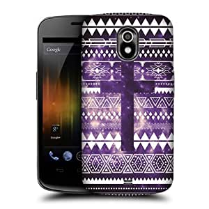 lintao diy AIYAYA Samsung Case Designs Aztec Cross Nebula Tribal Patterns Protective Snap-on Hard Back Case Cover for Samsung Galaxy Nexus I9250