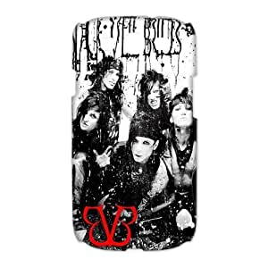 High Quality Case Cover Protector Black Veil Brides BVB Andy Six With Other Band Members for the Samsung Galaxy S3 S III i9300 I9308 I939