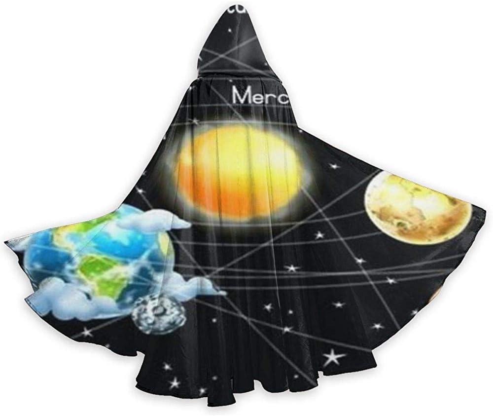 Sistema Solar Planetas Estrellas Túnica Adulta Caballero con ...