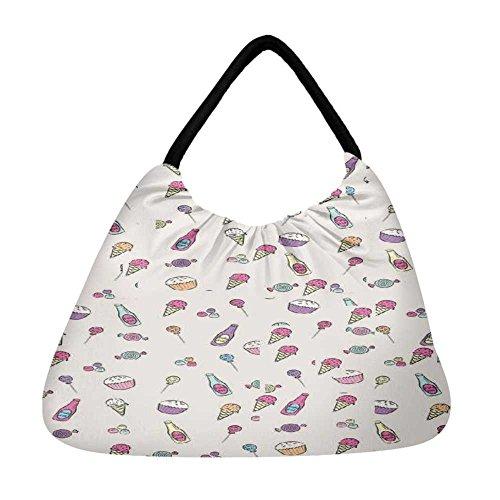 Strandtasche Snoogg mehrfarbig Snoogg Damen Damen mehrfarbig 8qrq7tnw
