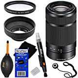 Sony E 55-210mm f/4.5-6.3 OSS E-Mount Telephoto Zoom Lens - Black - International Version (No Warranty) for a3000, a5000, a5100, a6000, Alpha NEX-3, NEX-3N, NEX-5N, NEX-5R, NEX-5T, NEX-6, NEX-7 & NEX-F3 Digital Cameras, NEX-VG30, NEX-VG30H & NEX-VG900 Int