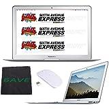 Apple 13 MacBook Air, 1.8GHz Intel Core i5 Dual Core Processor, 8GB RAM, 256GB SSD, Mac OS, Silver, MQD42LL/A Bundle (Certified Refurbished)