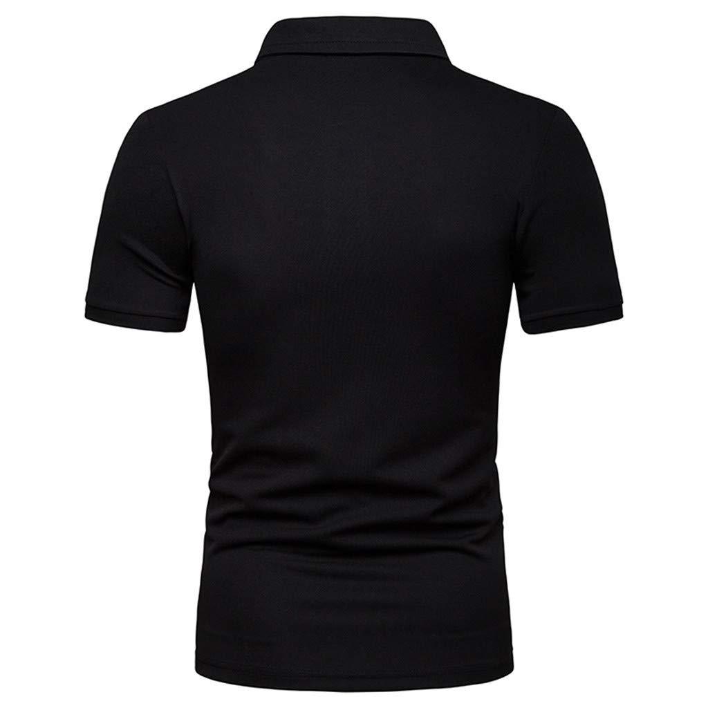 ODRD Herren T-Shirts Fr/ühling Sommer Herrenmode Kurzarm Splicing Malerei Gro/ße Gr/ö/ße L/ässige Top Bluse Shirts Top Tanktop Bluse Hemden Langarmshirts Tee t Shirts
